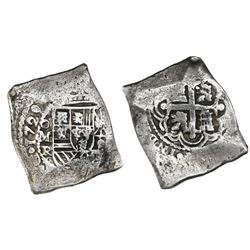Mexico City, Mexico, cob 8 reales, 1729R, ex-Ponterio.