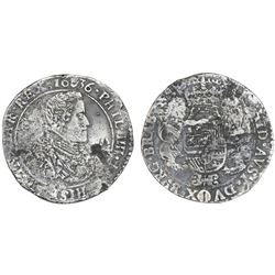 Brabant, Spanish Netherlands (Antwerp mint), portrait ducatoon, Philip IV, 1636.