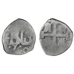 Lima, Peru, cob 1/2 real, 1750(R).