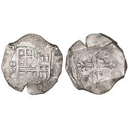 Mexico City, Mexico, cob 8 reales, (16)25/4D.