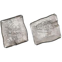 Mexico City, Mexico, cob 8 reales, 1730G, ex-Kent Ponterio.