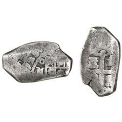 Mexico City, Mexico, cob 2 reales, (1)728(D), rare.