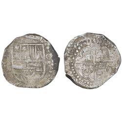 Potosi, Bolivia, cob 8 reales, 162(8)T.