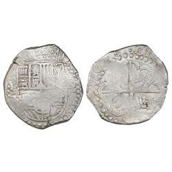 Potosi, Bolivia, cob 8 reales, 1628T.