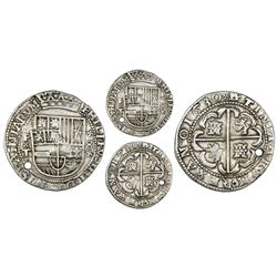 Potosi, Bolivia, cob 8 reales Royal (galano), 1630T, x-shaped ornaments, very rare first known date