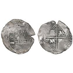 Potosi, Bolivia, cob 8 reales, (16)32T.