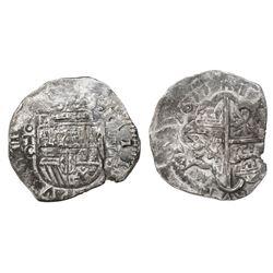 Toledo, Spain, cob 4 reales, 1611C.