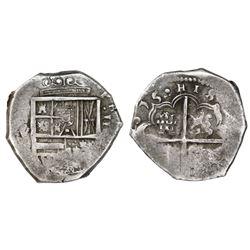 Seville, Spain, cob 4 reales, (1)615V.
