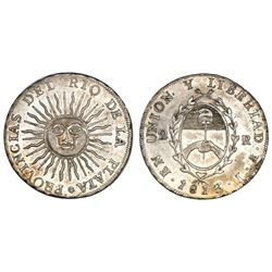 Argentina (River Plate Provinces), 2 reales, 1813J, Potosi mint.