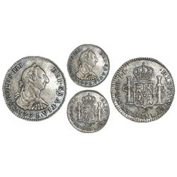 Bogota, Colombia, bust 1 real, Charles III, 1775JJ, very rare.