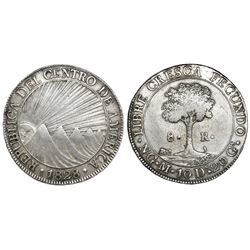 Guatemala (Central American Republic), 8 reales, 1828M.