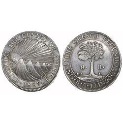 Guatemala (Central American Republic), 8 reales, 1837BA.