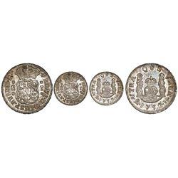 Mexico City, Mexico, pillar 1 real, Ferdinand VI, 1752M.