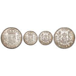 Mexico City, Mexico, pillar 1 real, Charles III, 1767M.