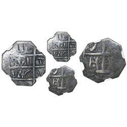 """Barinas (Caujaral), Venezuela, """"imitation cob"""" 1 real (""""chipi-chipi""""), """"176"""" date (ca. 1817), NGC F"""