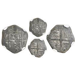 """Barinas (Caujaral), Venezuela, """"imitation cob"""" 1 real (""""chipi-chipi""""), """"185"""" date (ca. 1817), NGC VF"""