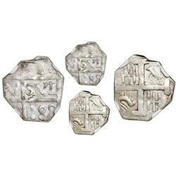 "Barinas (Caujaral), Venezuela, ""imitation cob"" 1 real (""chipi-chipi""), ""188"" date (ca. 1817), NGC MS"