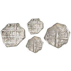 """Barinas (Caujaral), Venezuela, """"imitation cob"""" 1 real (""""chipi-chipi""""), """"810"""" date (ca. 1817), NGC AU"""