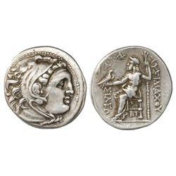 Kingdom of Thrace, AR drachm, Seleukos I Nikator, 305-281 BC.