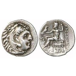 "Kings of Macedon, AR drachm, Alexander III (""the Great""), 336-323 BC."