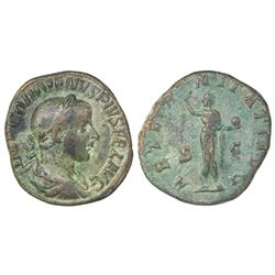 Roman Empire, AE sestertius, Gordian III, 240-244 AD.