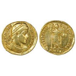 Roman Empire, AV solidus, Valens, 364-378 AD, Antioch mint.