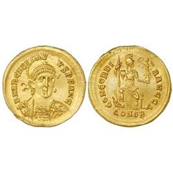 Eastern Roman Empire, AV solidus, Arcadius, 383-408 AD.