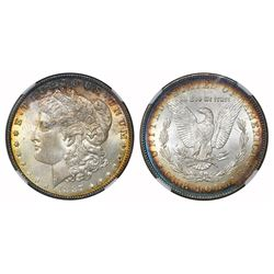 "USA (Philadelphia mint), $1 Morgan, 1887, VAM-12A DDO gator & clash ""top 100,"" NGC MS 65."