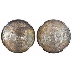 USA (San Francisco mint), $1 Morgan, 1902-S, NGC MS 65.