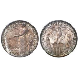 USA (San Francisco mint), half dollar, 1915-S, Panama-Pacific, NGC MS 64.