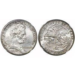USA (Philadelphia mint), half dollar, 1918, Lincoln-Illinois, NGC MS 63.