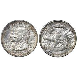 USA (Philadelphia mint), half dollar, 1921, Alabama, 2x2, NGC UNC details / obv improperly cleaned.