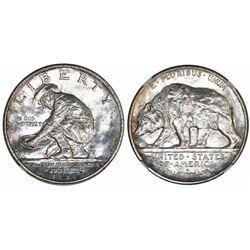 USA (San Francisco mint), half dollar, 1925-S, California, NGC MS 64.