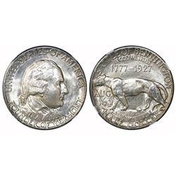 USA (Philadelphia mint), half dollar, 1927, Vermont, NGC MS 64.