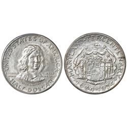 USA (Philadelphia mint), half dollar, 1934, Maryland, PCGS MS64.