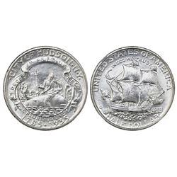 USA (Philadelphia mint), half dollar, 1935, Hudson, NGC UNC details / improperly cleaned.