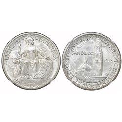 USA (San Francisco mint), half dollar, 1935-S, San Diego, NGC MS 65.