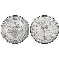 USA (Denver mint), half dollar, 1936-D, Columbia, NGC MS 67.