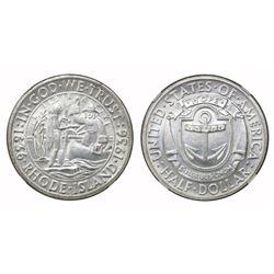 USA (Philadelphia mint), half dollar, 1936, Rhode Island, NGC MS 65.