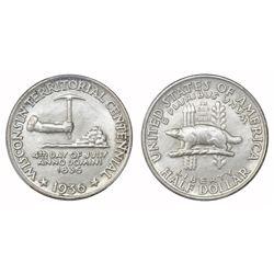 USA (Philadelphia mint), half dollar, 1936, Wisconsin, PCGS MS64.