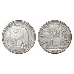 USA (San Francisco mint), half dollar, 1936-S, Bay Bridge, NGC MS 64.