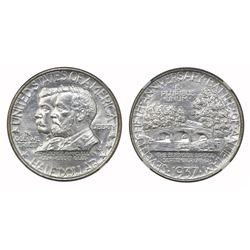 USA (Philadelphia mint), half dollar, 1937, Antietam, NGC MS 64.