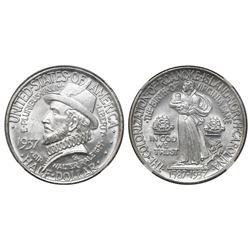 USA (Philadelphia mint), half dollar, 1937, Roanoke, NGC MS 64.