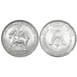 USA (Philadelphia mint), half dollar, 1938, New Rochelle, NGC MS 66.
