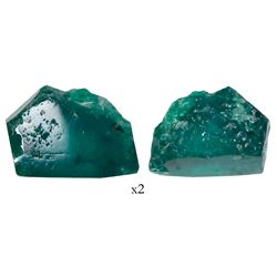 High-quality natural emerald, 2.56 carats, grade 1C, from the Atocha (1622).