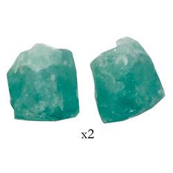 Natural emerald, 1.38 carats, grade 2B, from the Atocha (1622).