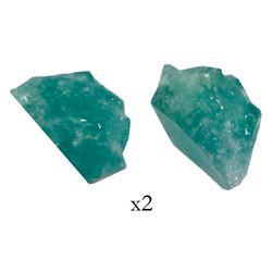 Natural emerald, 0.56 carat, grade 2A, from the Atocha (1622).
