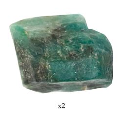 Natural emerald, 13.73 carats, from the Maravillas (1656).