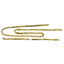 Lot of two small pieces of gold  olive blossom  chain from the 1715 Fleet.