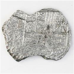 Potosi, Bolivia, cob 4 reales, (1618)PAL, rare assayer, Grade-3 quality, with tag but certificate mi